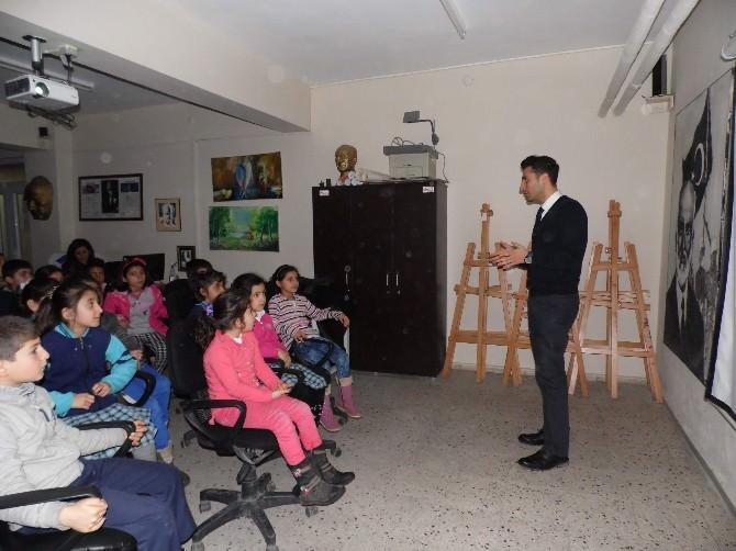 Gölbaşı'da, Öğrencilere Madde Bağımlılığı Semineri Düzenlendi