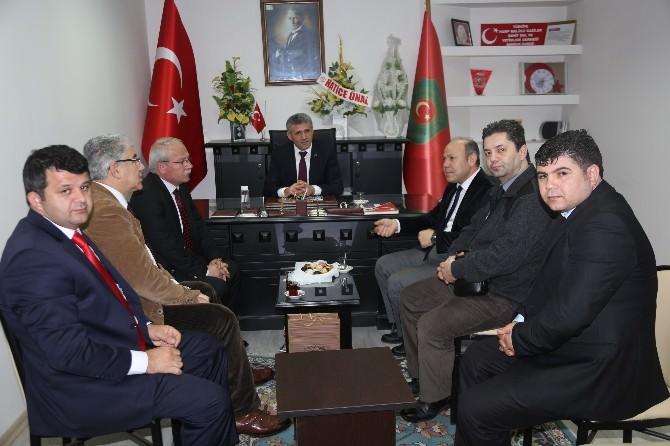 Balcı'dan Gazi Derneğine Ziyaret