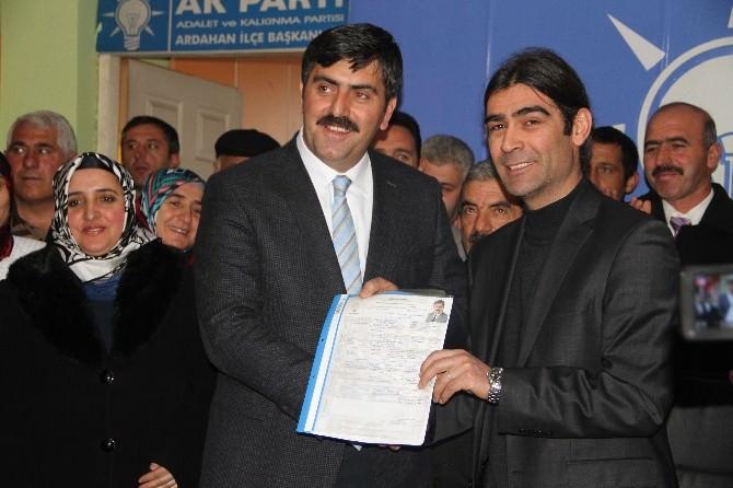 AK Parti Eski İl Başkanı Yunus Baydar Milletvekilliği Adaylık Başvurusunu Yaptı