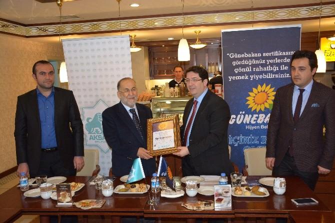 Aksaray Belediyesi Günebakan Sertifikasına Devam Ediyor