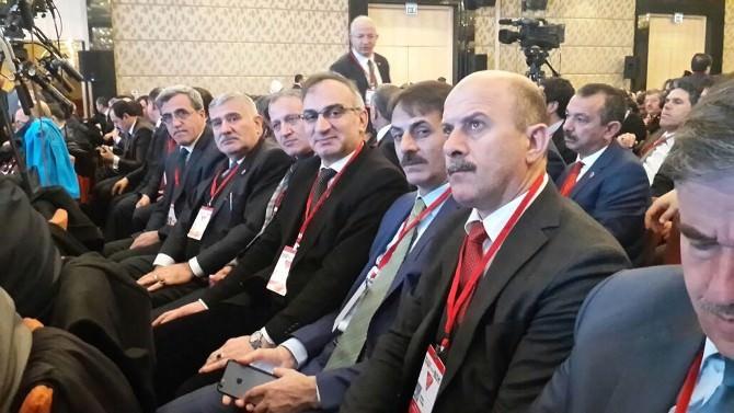 Başkan Yılmazer, Ankara'da İstişare Ve Değerlendirme Toplantısına Katıldı