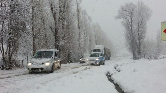 Bingöl'de Kar Yağışı Hayatı Olumsuz Etkiliyor