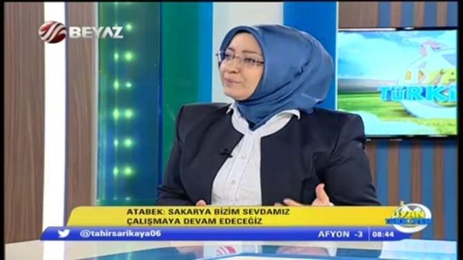 Çiğdem Erdoğan Atabek Beyaz TV'de Konuştu