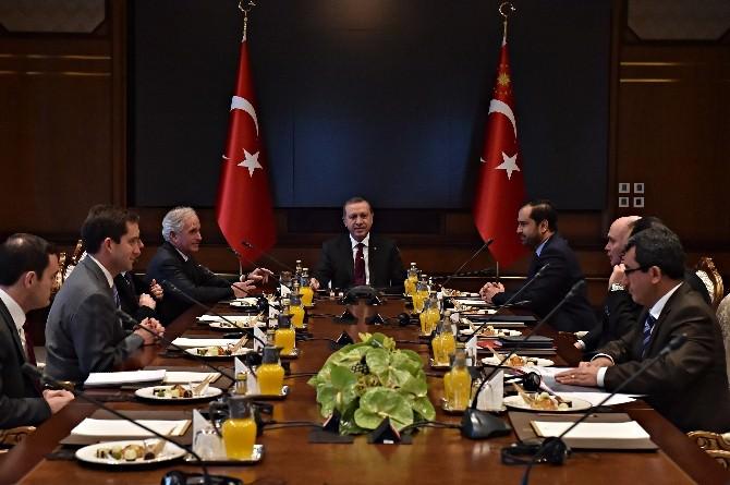 Erdoğan, ABD Senatosu Dış İlişkiler Komitesi Başkanı Corker'i Kabul Etti