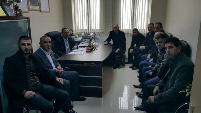 Başkan Laç, Protokol Ziyaretine Devam Ediyor