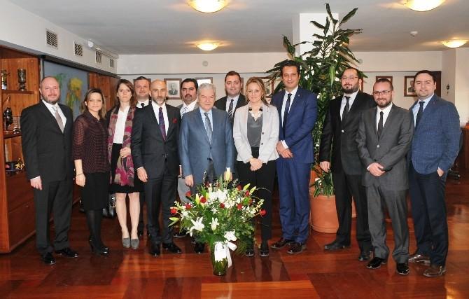 Egiad'dan İTO Başkanı Demirtaş'a Ziyaret