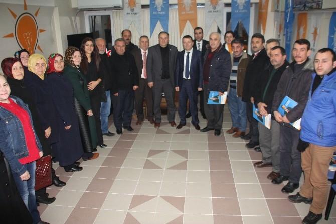 Sarıoğlu'ndan Teşkilatlara Ziyaret