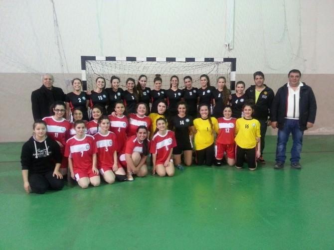 Hentbol Genç Kadınlar Liginde Eskişehir Büyükşehir Fırtına Gibi