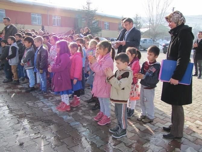 Hisarcık'ta Taşımalı Eğitime Bir Günlük Kar Tatili