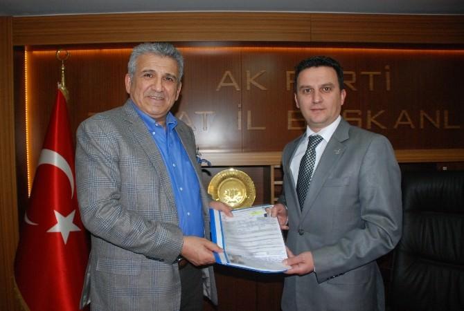 Nuri Elibol, Milletvekili Aday Adaylığı Başvurunu Yaptı