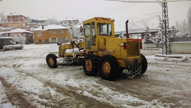Kırıkkale'de Eğitime Kar Engeli