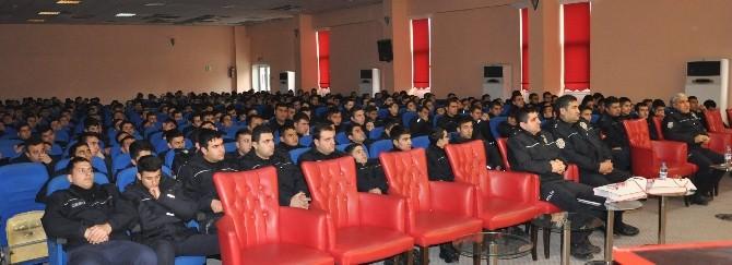 Kültür Ve Turizm Müdürlüğü'nden Polis Okulu Öğrencilerine Konferans
