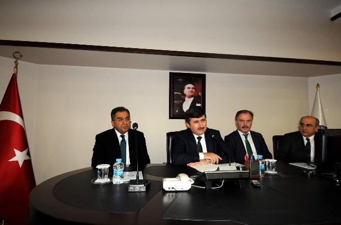 Merkezi Sınavlar Çalıştayı Vali Öz Başkanlığında Gerçekleştirildi