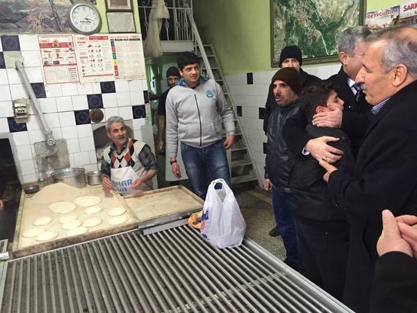 Şahin Ve Polat'tan Yeşilyurt İlçe Başkanı Yalçınkaya'ya Ziyaret