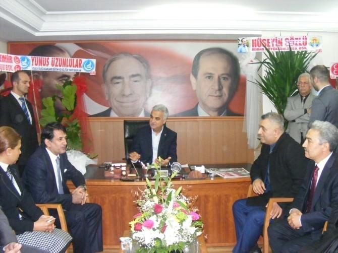 Ankara'dan Başkan Baş'a Hayırlı Olsun Ziyareti