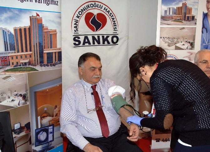 Sanko Tekstil, Pentex Fuarı'nda Stant Açtı