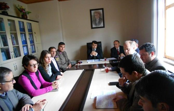 Pazarlar'da Hayat Boyu Öğrenme, Halk Eğitimi Planlama Ve İşbirliği Komisyonu Toplantısı Yapıldı