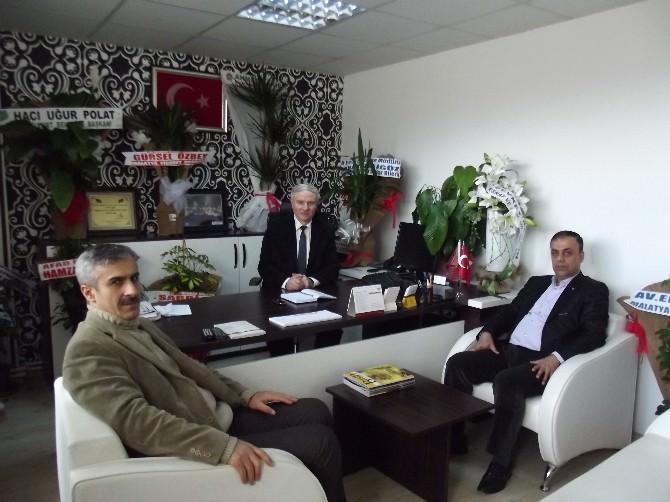 Ticaret Borsası'ndan BİK Malatya Şubesi'ne Ziyaret