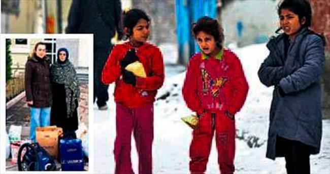 Suriyelilere ev eşyası yardımı