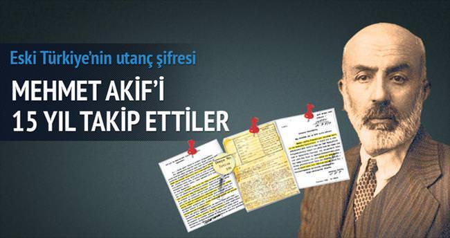 Mehmed Akif'i 15 yıl takip ettiler