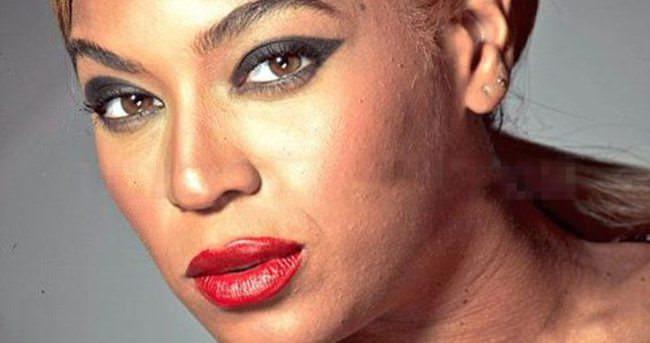 Beyonce'nin fotoğrafları sızdı