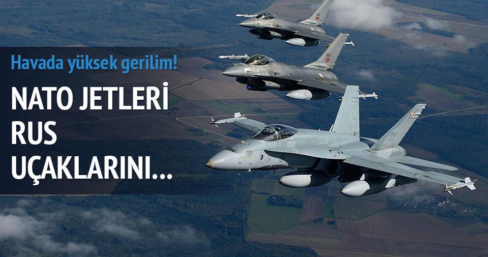NATO ve Rus uçaklarının tehlikeli yakınlaşması
