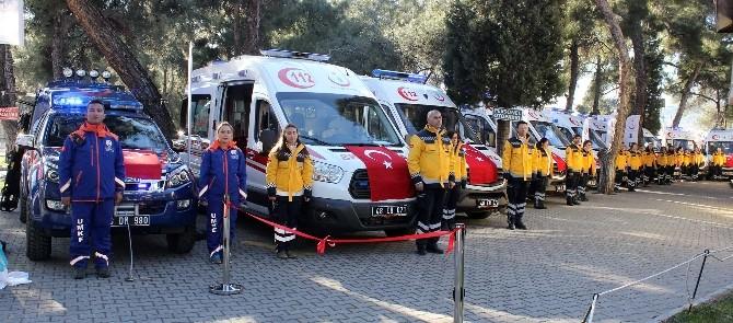 112'ye 10 Yeni Ambulans