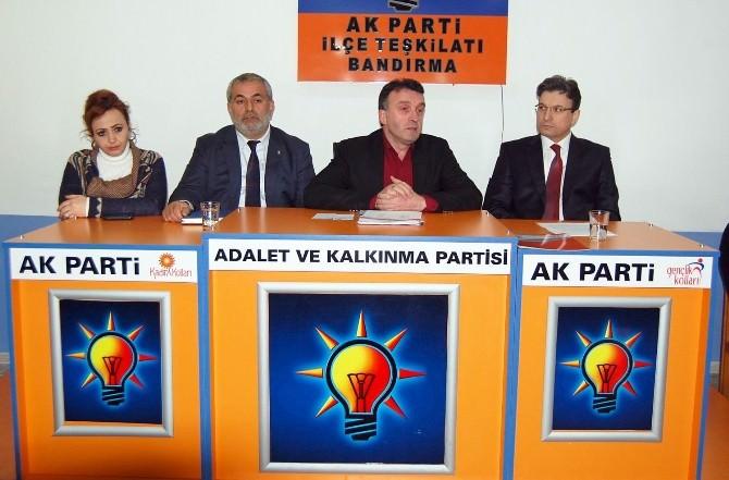 Bandırma AK Parti, İlk Aday Adaylarını Tanıttı
