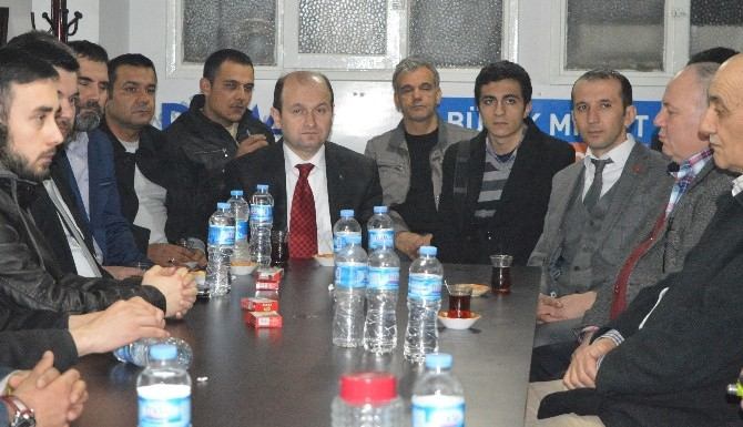 Aday Adayı Sofuoğlu Salihli Ve Alaşehir'de