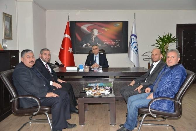 ASKON'dan SGK İl Müdürü Kılıç'a Ziyaret
