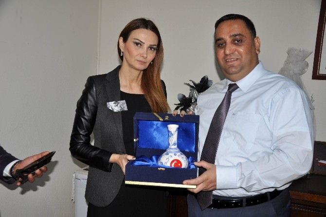 Azerbaycan Milletvekili Paşayeva'dan Başkan Can'a Ziyaret