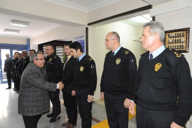 Bilecik Valisi Nayir'den Emniyet Müdürü Bektaş'a Ziyaret