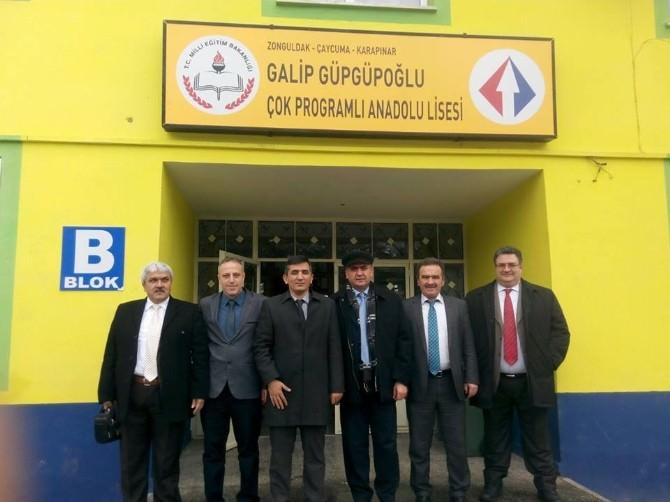 İlçe Milli Eğitim Müdürü Özdemir'den Lise Müdürlerine Ziyaret