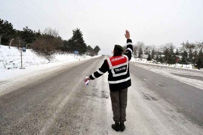 Jandarmadan 'Gizli Buzlanma' Uyarısı