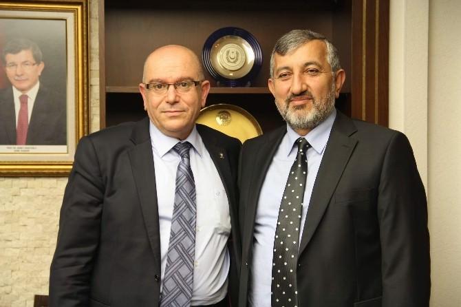 İlim Yayma Cemiyeti Kayseri Şube Başkanı Oğuz Memiş De Aday Adaylmığı Müracaatında Bulundu