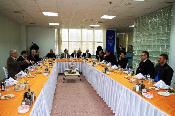Miad İnönü Üniversitesi'ni Ziyaret Etti