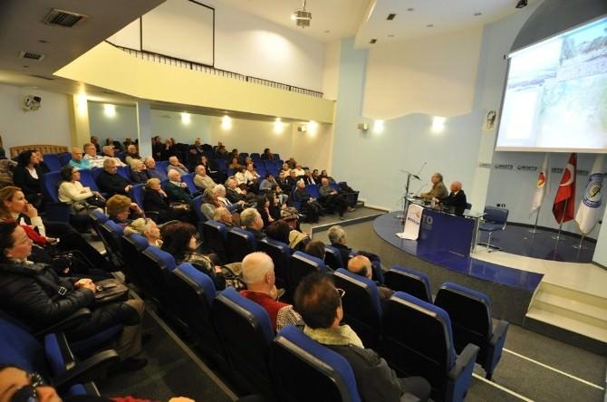 Prof. Dr. Diler, Bodrum'da Lelegler'i Anlattı