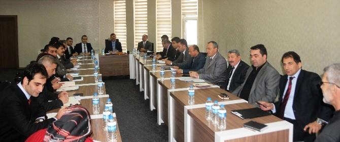 Belediye Birim Müdürleri Toplantısı Düzenlendi