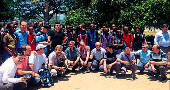 Tanzanya gezisinden çok umutlu döndüler