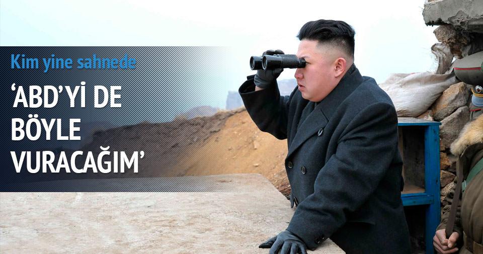 Kim Jong'dan ABD ve Güney Kore'ye gözdağı