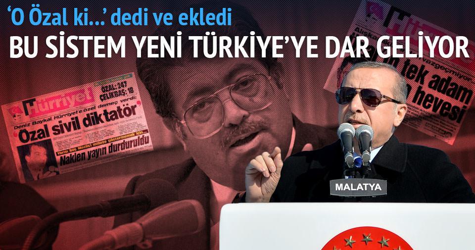 Cumhurbaşkanı Erdoğan: Özal'a diktatör diyenler...