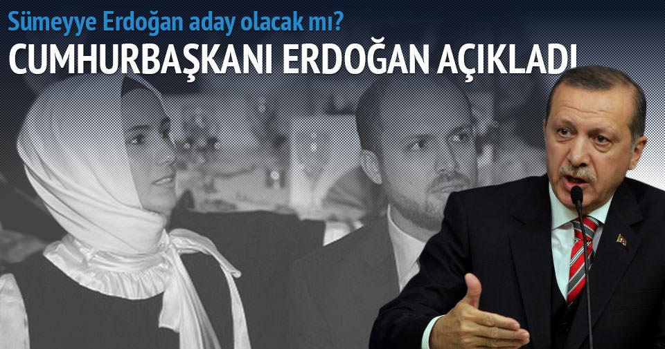Erdoğan'dan 'Sümeyye'ye suikast planı' açıklaması