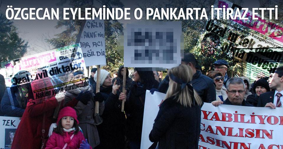 Özgecan protestosunda idam tepkisi