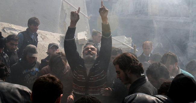 Şam'da hava saldırısı: 10 ölü, 35 yaralı