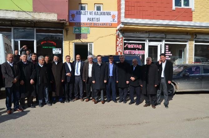 AK Parti Van Milletvekili Aday Adayı Arvas'tan İlçelere Ziyaret