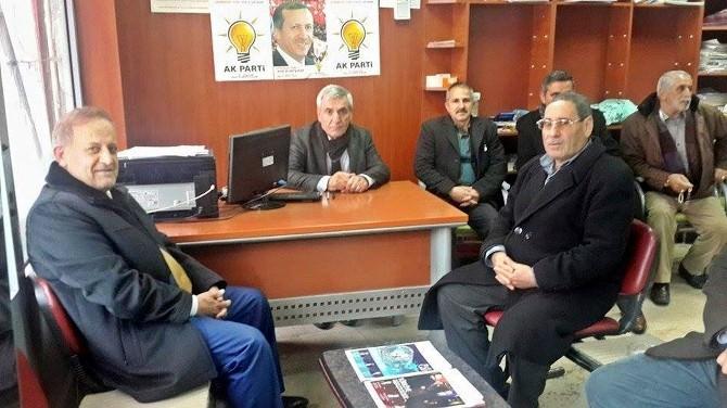 Özet AK Parti Gerger İlçe Teşkilatını Ziyaret Etti