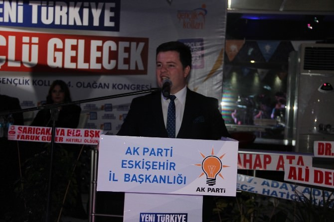 AK Parti İl Gençlik Kolları 4'üncü Olağan Kongresi Yapıldı