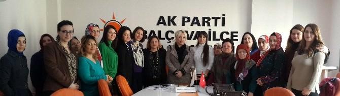 AK Partili Meltem Ölmez'e Kadın Partililerden Büyük İlgi
