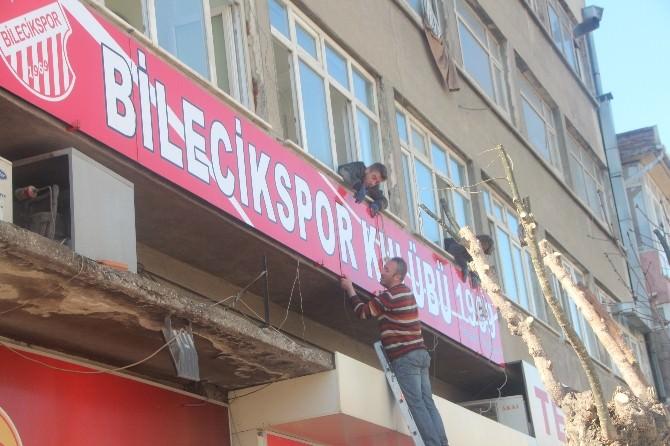 Bilecikspor Sosyal Tesislerine Kavuşuyor