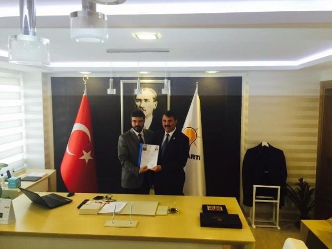 Abdurrahim Öztürk, AK Parti'den Aday Adaylığı Oldu